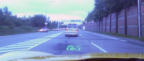 Policie jezdí za 2 body